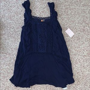 *NEW* Free people navy sundress, fully lined